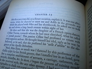 Page from Jane Eyre